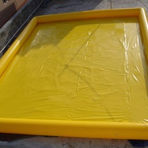rectangle PVC cheap heated inflatable pool