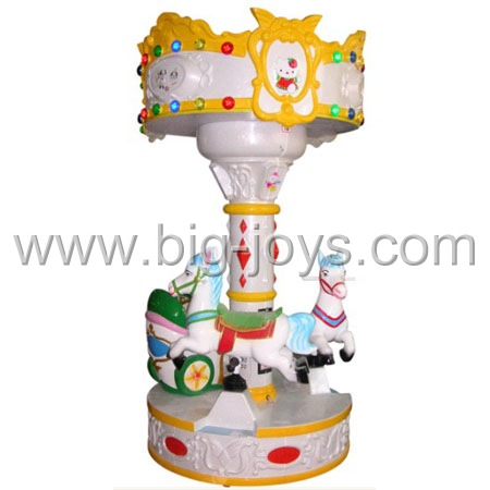 hot amusement kiddie carousel;cheap carousel for sale