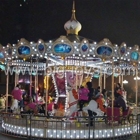 Amusement park rides merry go round;simple carousel,cheap carousel for sale;amusement kiddie carousel