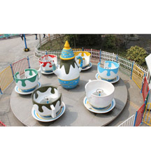 Rotating Coffee Cup,24 Seats Coffee Cup Rides, Coffee Cup Rides Around