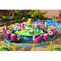 Amusement Rides Snail Water Attack