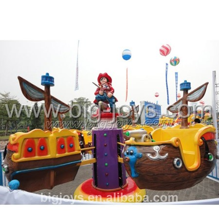 8 seats pirate ship rotary ride