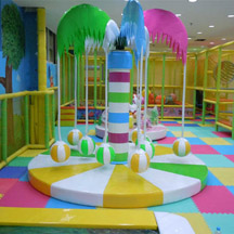 Electric coconut tree,Indoor playground Electric toys