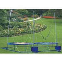 Double Seat Bungee Trampoline