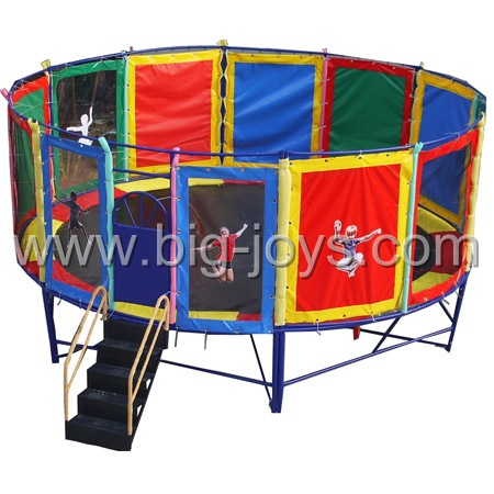 round kid trampoline bed