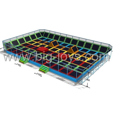 Hot sale Giant size jumping bed