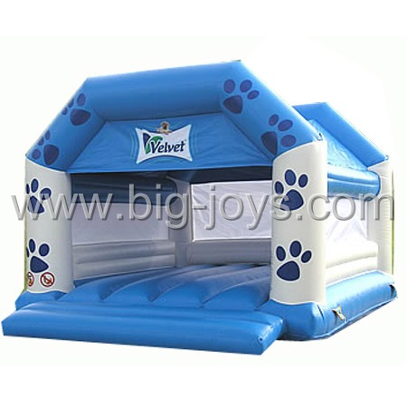 inflatable foot moon walk,inflatable small kids bouncy castle