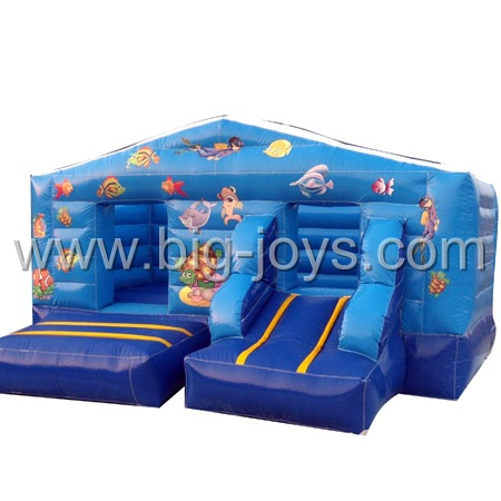 inflatable air trampoline bouncer,popular bouncy castle for sale