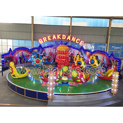 Amusement Creazy Break Dance Equipment, Break Dance Rides For Children, Amusement Creazy Break Dance Rides