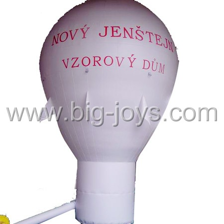 inflatable white advertising balloon