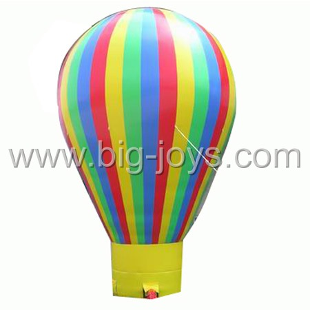 rainbow pvc airballoon,inflatable airballoon for sale