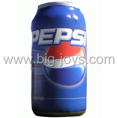 inflatable pepsi can