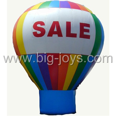 inflatable rainbow air balloon