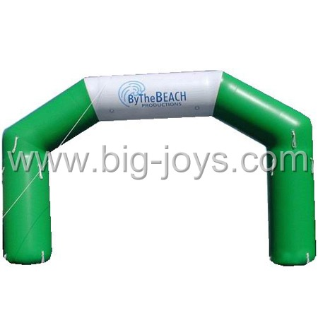 inflatable green arch