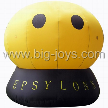 inflatable smile face