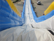 50m(166ft) Long Giant Inflatable Water Slide(Hippo Slide) for Quality Test